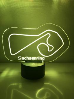 LED Lampe Sachsenring