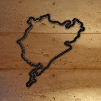 Nürburgring Gesamtstrecke mit Carbonfolie