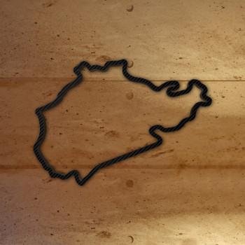 Nürburgring Nordschleife mit Carbonfolie