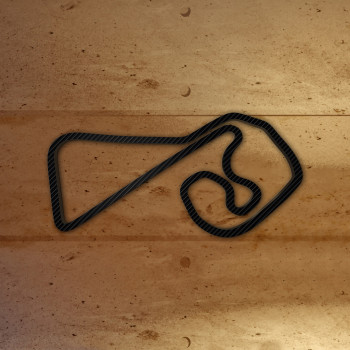 Sachsenring mit Carbonfolie