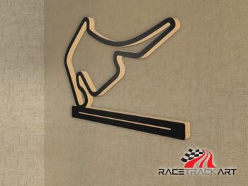 Schlüsselhalter Hockenheimring GP