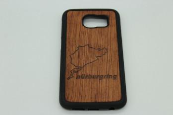 Handy Hülle aus Echtholz für Samsung Telefone - Rennstrecke nach Wahl