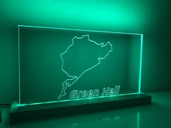 """Lampe Nürburgring """"Green Hell"""""""
