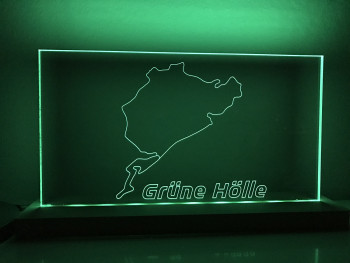 "Lampe Nürburgring Gesamtstrecke ""Grüne Hölle"""