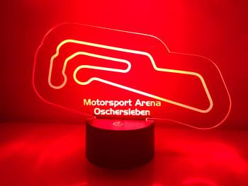 LED Lampe Motorsport Arena Oschersleben