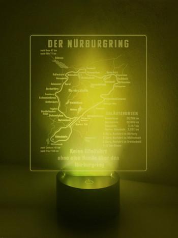 LED Lampe Historisches Schild vom Nürburgring
