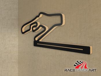 Schlüsselhalter Autodromo Vallelunga Circuit
