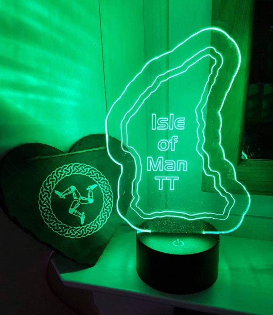 LED Lampe Isle of Man TT