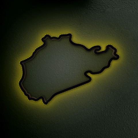 Nürburgring Nordschleife mit LED