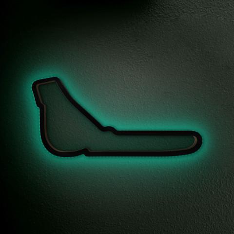 Monza mit LED