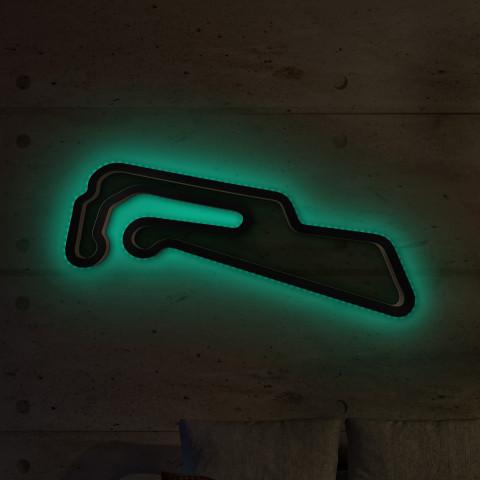 Motorsport Arena Oschersleben lang mit LED