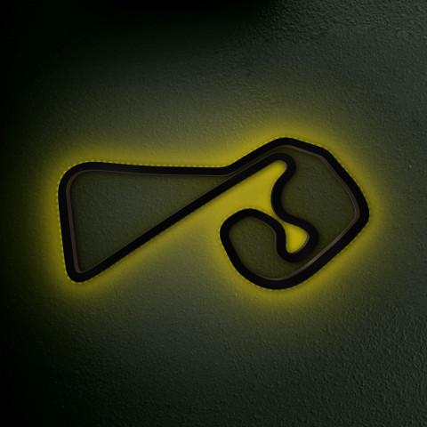 Sachsenring mit LED