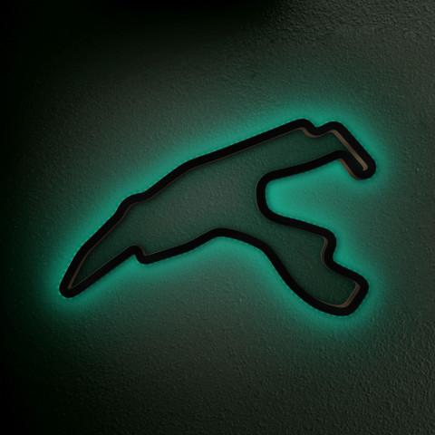 Spa Francorchamps mit LED