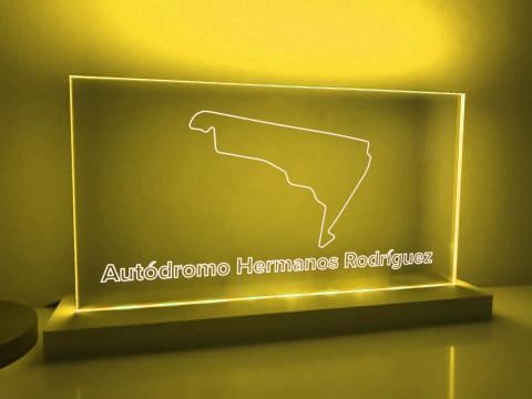 Lampe Autodromo Hermanos Rodriguez GP Circuit seit 2015