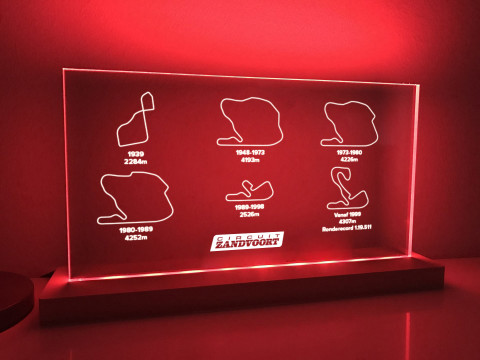 Lampe Zandvoort, Alle Layouts