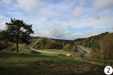 Nürburgring Nordschleife mit Bild
