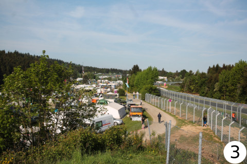 Nürburgring Gesamtstrecke mit Bild
