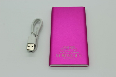 Powerbank 10000 mAh - Race Queen, Pink