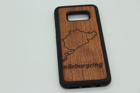Handy Hülle aus Echtholz für Apple Telefone - Rennstrecke nach Wahl