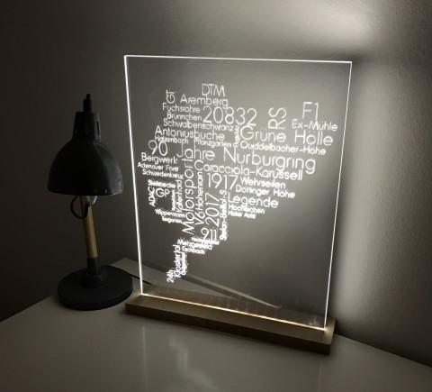 LED Lampe mit Ihrem eigenen Motiv