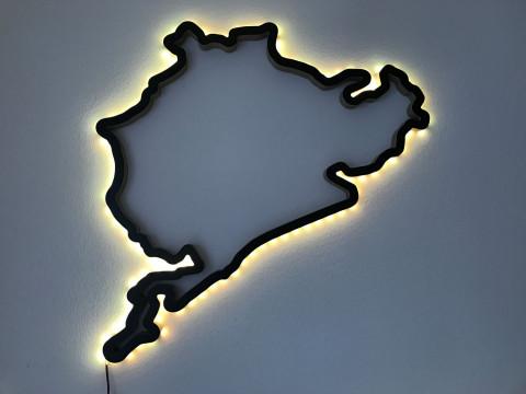 LED Option für eine Rennstrecke