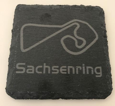 6er Set Sachsenring Schiefer Untersetzer