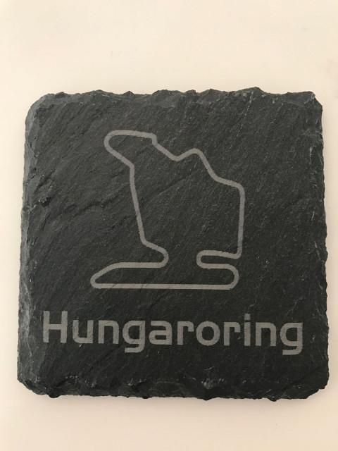 6er Set Hungaroring Schiefer Untersetzer