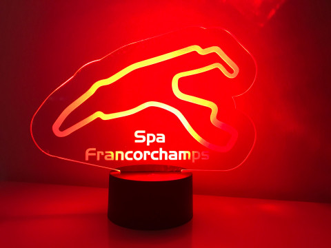 LED Lampe Spa Francorchamps