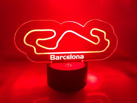 LED Lampe Barcelona