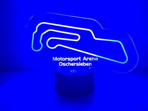 LED Lampe Motorsport Arena Oschersleben