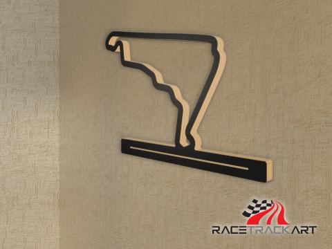 Schlüsselhalter Autodromo Hermanos Rodriguez GP Circuit seit 2015
