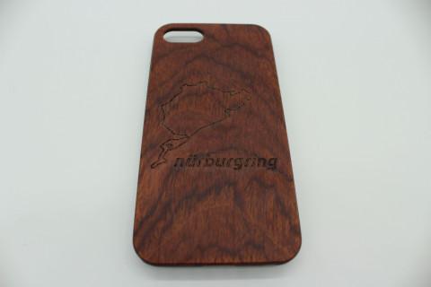 Handy Hülle aus Echtholz für Apple Telefone - Nürburgring