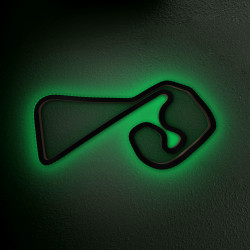 Sachsenring with LED