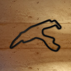 Spa Francorchamps with carbon foil
