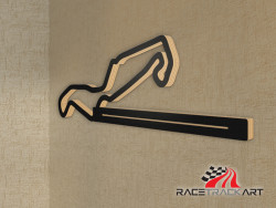 Key Holder with Assen TT Circuit