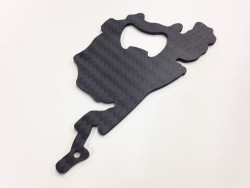 Carbon bottle opener Nurburgring