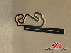 Key Holder with Circuit de Barcelona-Catalunya