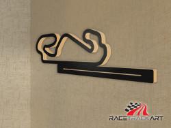 Key Holder with Circuit de Barcelona-Catalunya