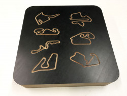 Deco Collection with 7 racetracks