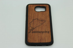 Real Wood Mobile Phone Case for Samsung Phones - Track of your Choice