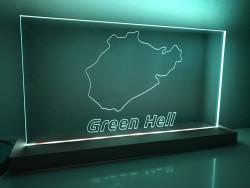"Lamp Nordschleife ""Green Hell"""