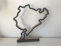 Nurburgring complete track with foot