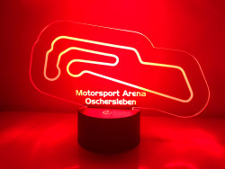 LED Lamp Motorsport Arena Oschersleben