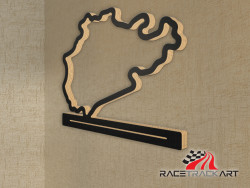 Key Holder with Nurburgring Nordschleife