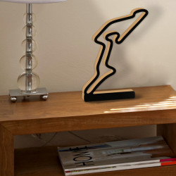 Nurburgring GP circuit with foot
