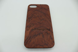 Real Wood Mobile Phone Case for Apple Phones - Nürburgring