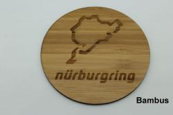 Set of 4 wooden coasters - Nürburgring
