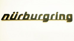 Lettering from the Nürburgring