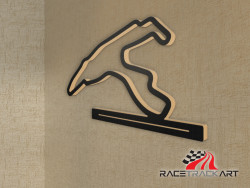 Key Holder with Spa Francorchamps