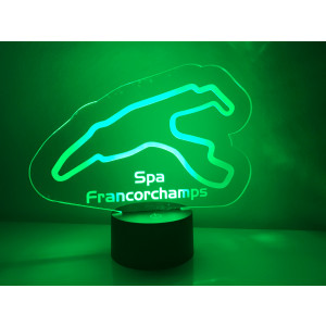 LED Lamp Spa Francorchamps